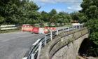 Oatyhill Bridge, Laurencekirk.  Picture by DARRELL BENNS