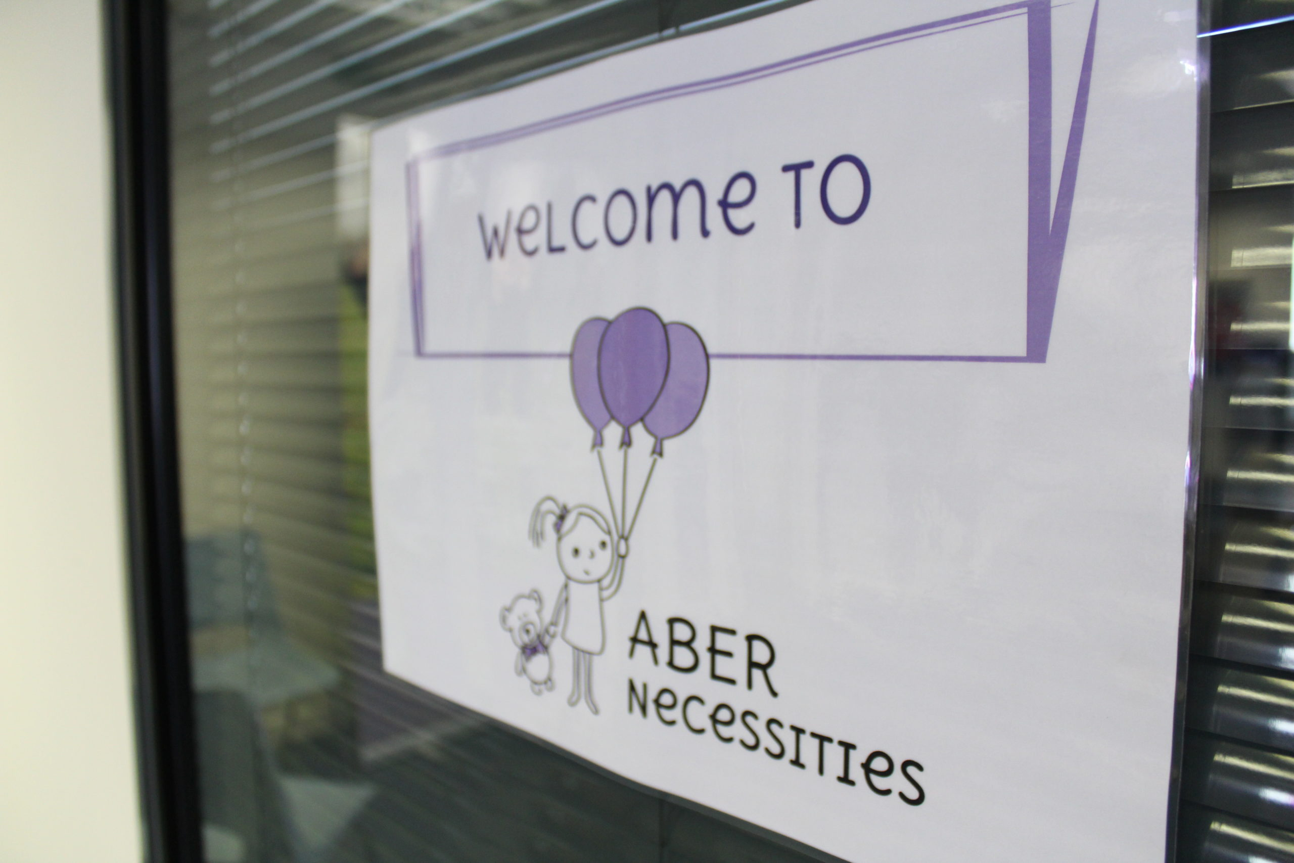 AberNecessities has benefited from a £1,000 donation from Barratt Homes North Scotland.