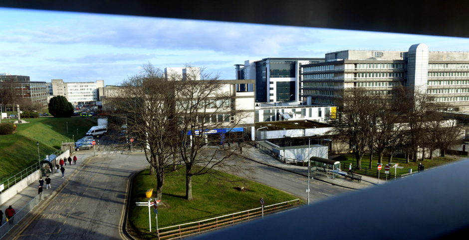 NHS Grampian are suspending visits to all Aberdeen facilities