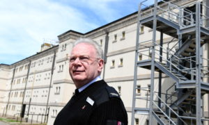 Alex Geddes, operations manager at Peterhead Prison Museum. Photo by Kami Thomson