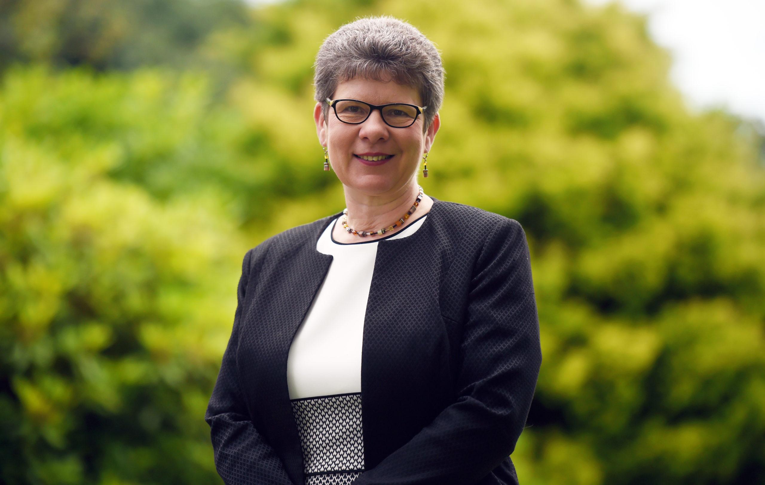 Councillor Alison Evison.