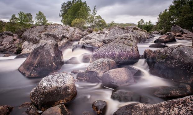 Alltan Dubh black stream). Cailean Maclean