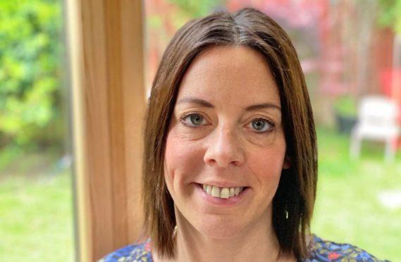 Amy Cruickshank, one of the coordinators of Moray Pathways.