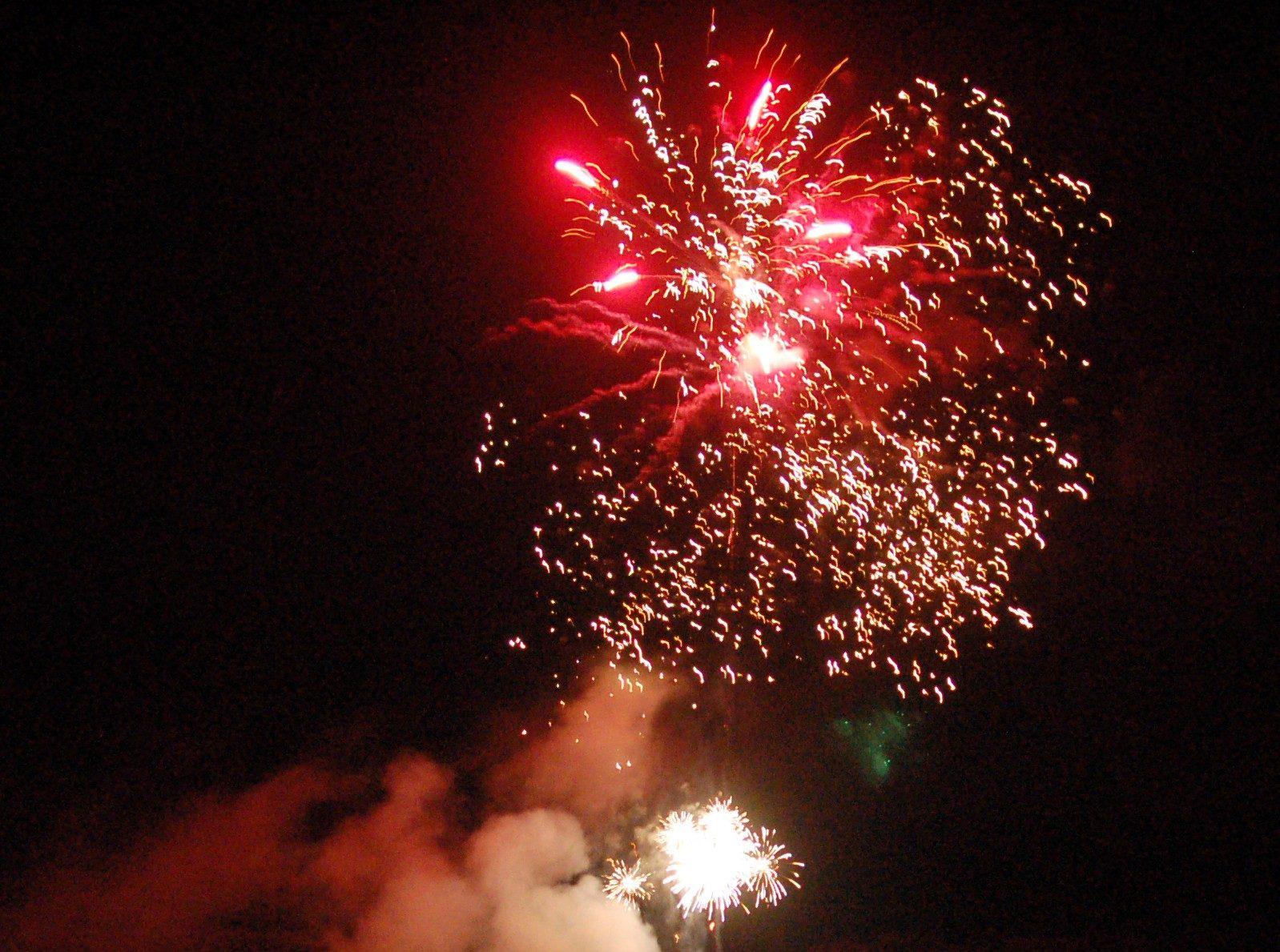 Fireworks against cancer.