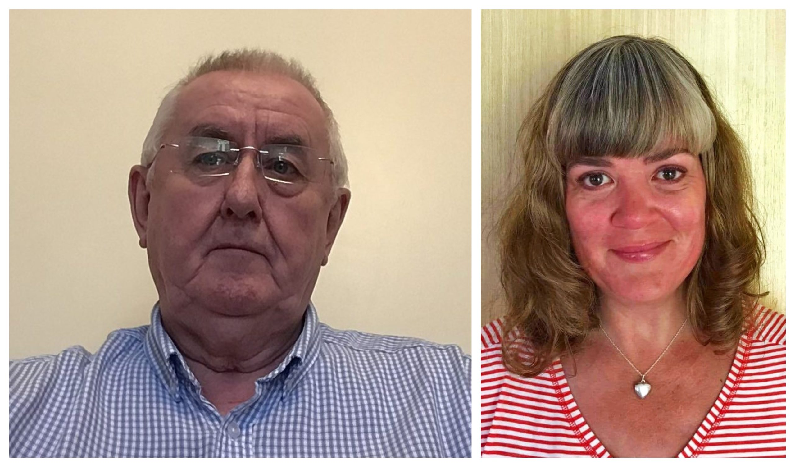 WINNERS: George O'Connor from Buckie and Claire Nicholson, from Lerwick.