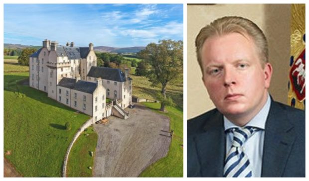Sergey Fedotov bought Castle Grant in 2014.