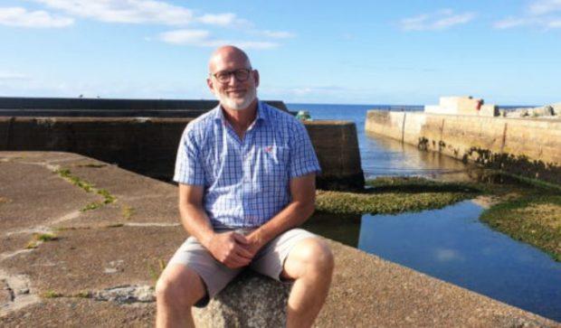 Scott Sliter, chairman of Portgordon Community Harbour Group.