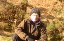 Davie Black, Access & Conservation Officer with Mountaineering Scotland.