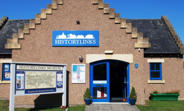 Dornoch Historylinks Museum is looking for funding for an extension.
