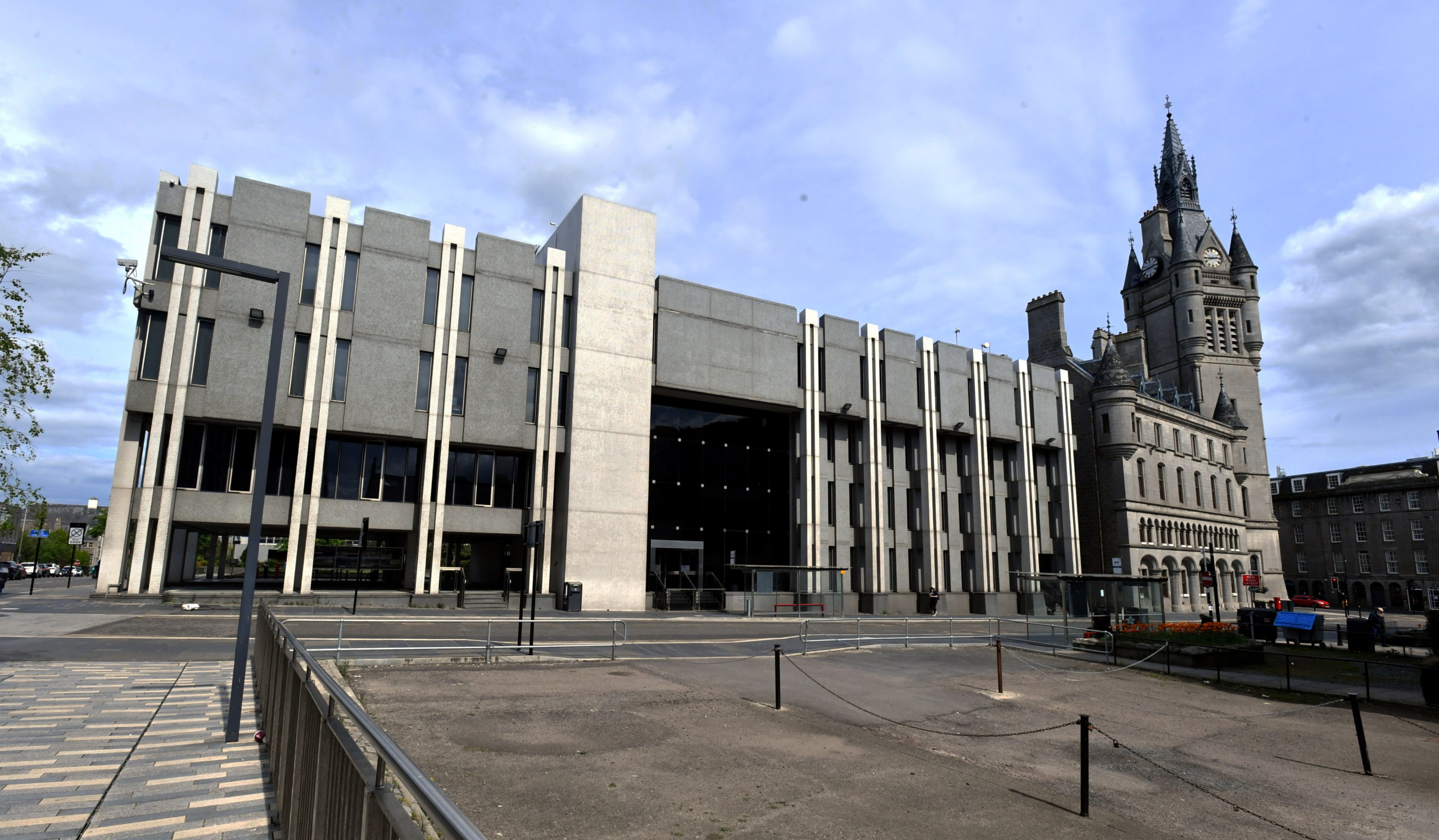 Councillors met at Aberdeen Town House for the first time in five months.