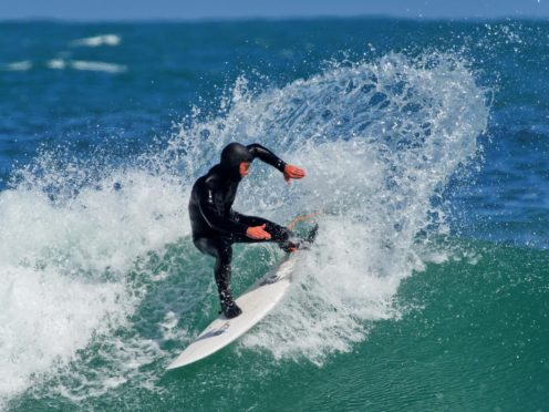 George Watt plans to launch his new surf school next month.