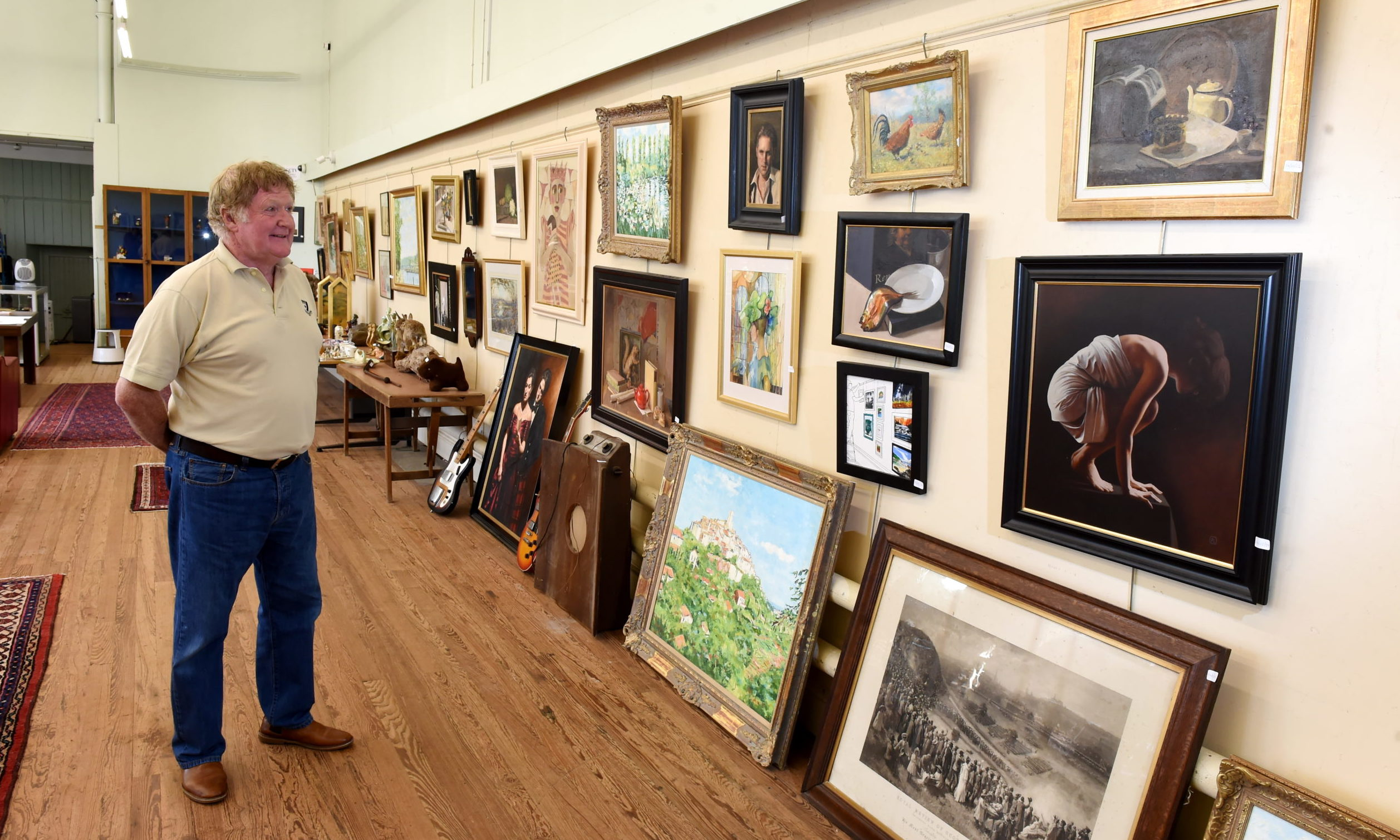 Graham Lumsden, a senior partner at John Milne Auctioneers in Aberdeen. Picture by Kenny Elrick