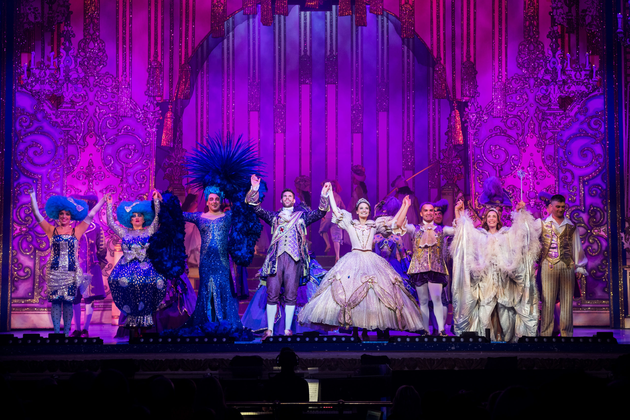Cinderella, HMT's panto in 2019. It has been months since audiences have been able to enjoy live shows.