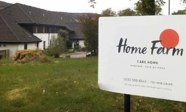 Home Farm care home,  Portree, Skye.