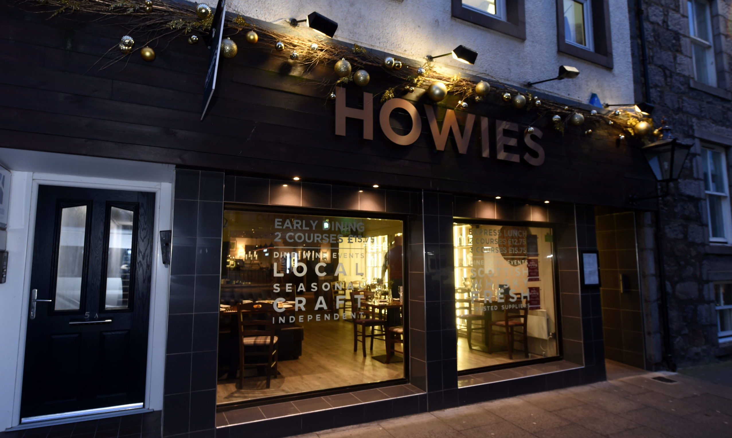 Howies on Chapel Street, Aberdeen. Picture by Jim Irvine