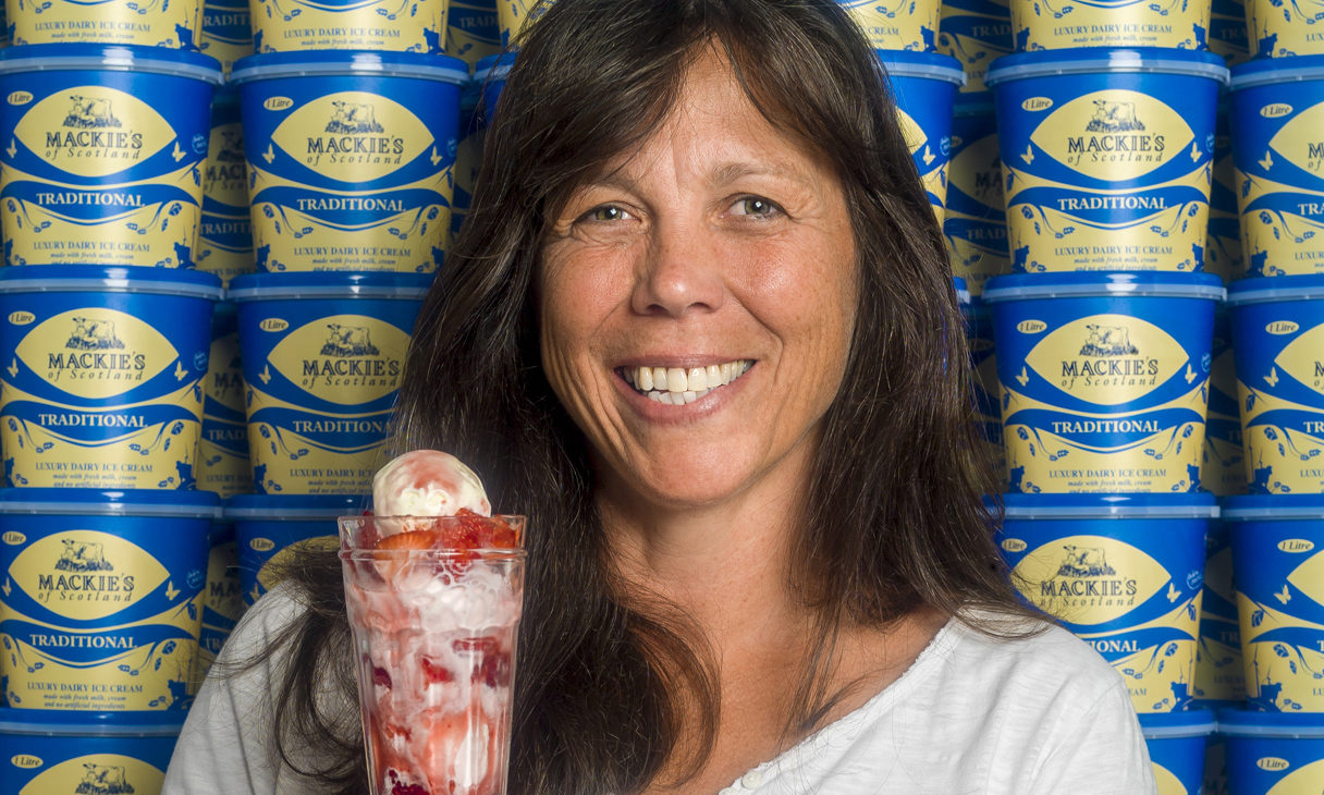 Karin Hayhow, marketing director for Mackie's of Scotland