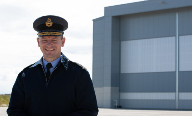 Chief of the Air Staff, Air Chief Marshal Mike Wigston