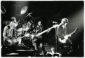 Thin Lizzy performing in concert in 1980.