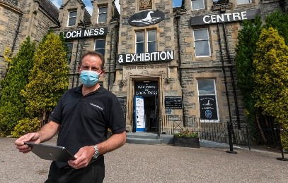 Loch Ness Centre and Exhibition will reopen tomorrow for the first time since March.