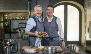 Nick Nairn and Dougie Vipond.
