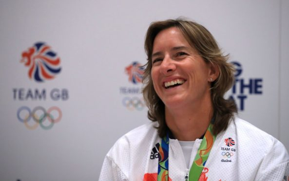 Dame Katherine Grainger is a Scottish Olympic heroine.