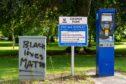Vandals target Cooper Park.