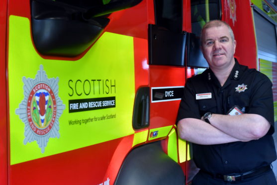 Craig Shand is urging people to be safe in the lead up to bonfire night.