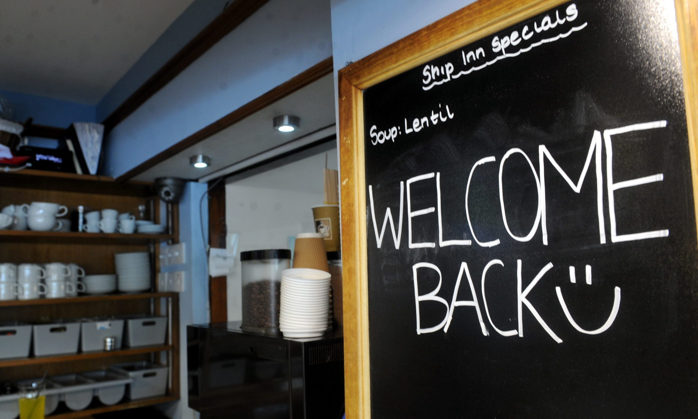 Pubs and restaurants across Scotland have reopened, including Stonehaven's The Ship Inn