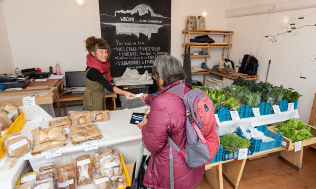 The Bakehouse has been selling locally grown produce and bread. Picture by Jason Hedges.
