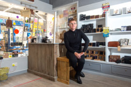 Director of Elgin gents retail shop Sirology, Richard Cumming. Picture by Jason Hedges.