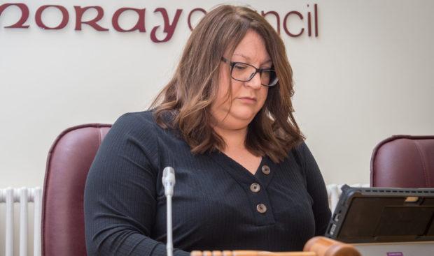 Moray Council convener Shona Morrison.