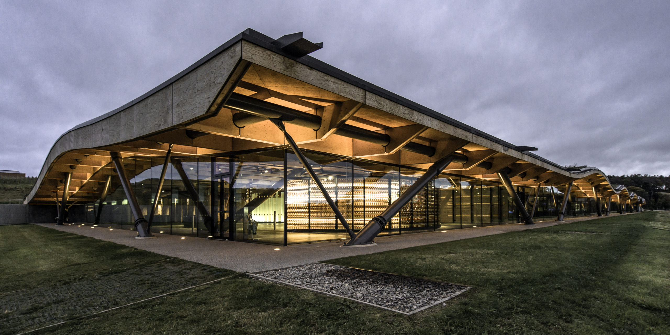 The new Macallan distillery opened on Speyside in 2018.