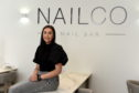 Jayd Linney owner of NailCO Nail Bar on Union Street. Picture by Kenny Elrick