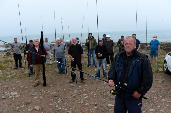 A new sea angling club for Peterhead and surrounding communities has been set up. Picture by Kenny Elrick.