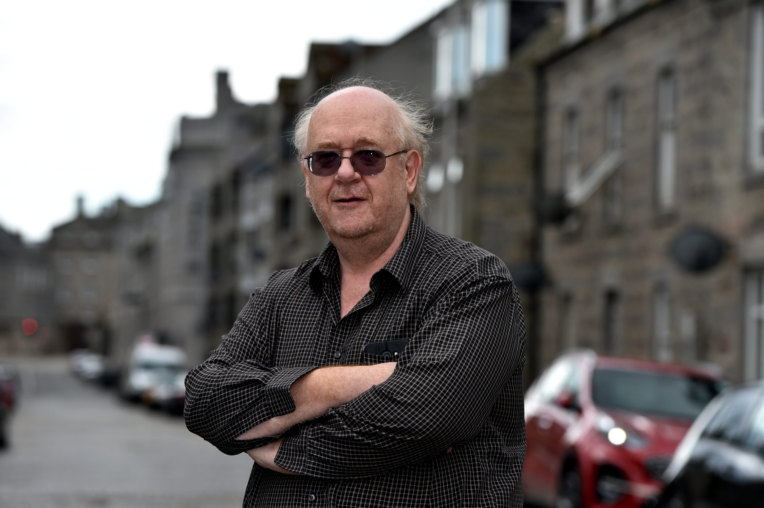 Andy Macleod, chairman of George Street Community Council.