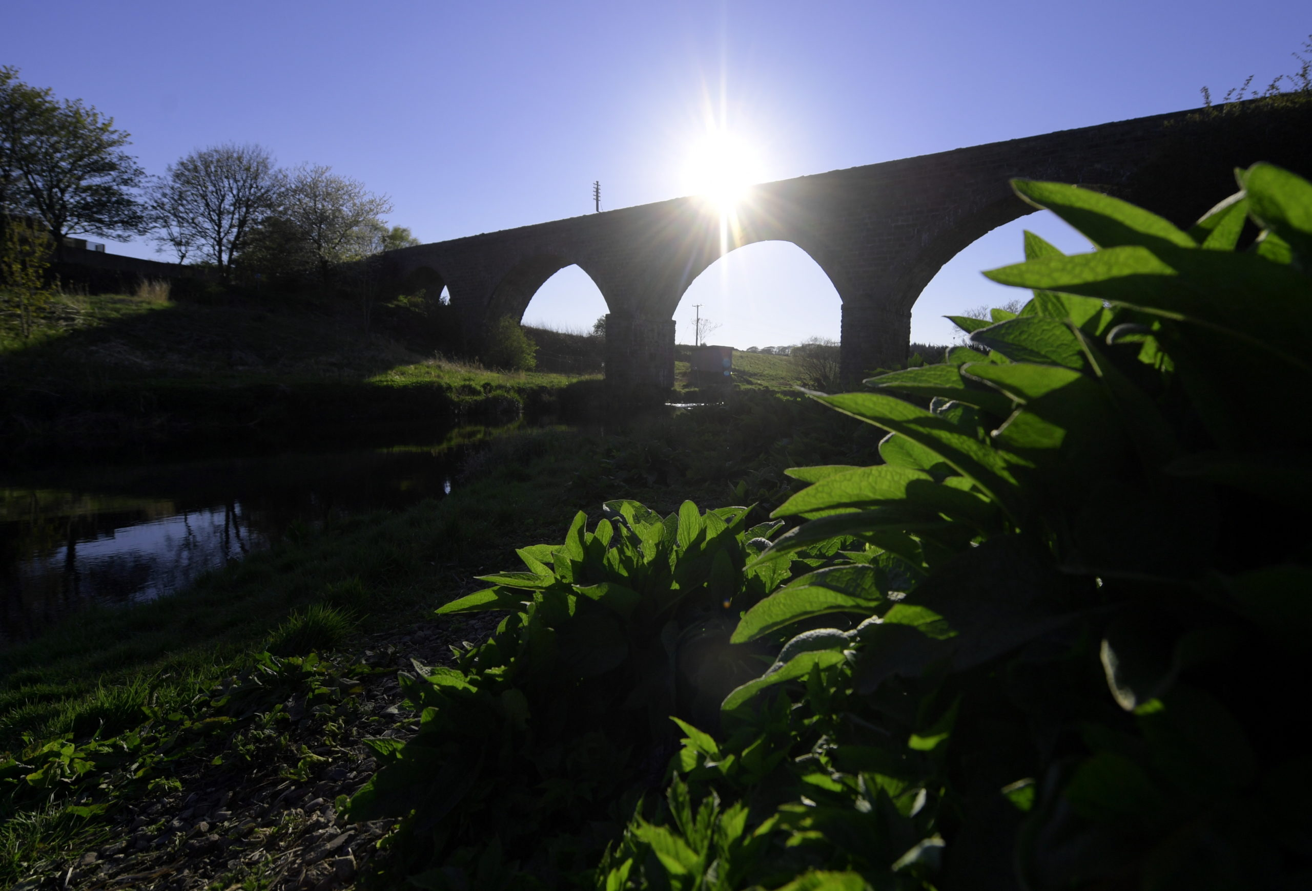 Ellon Viaduct. Picture by Kath Flannery
