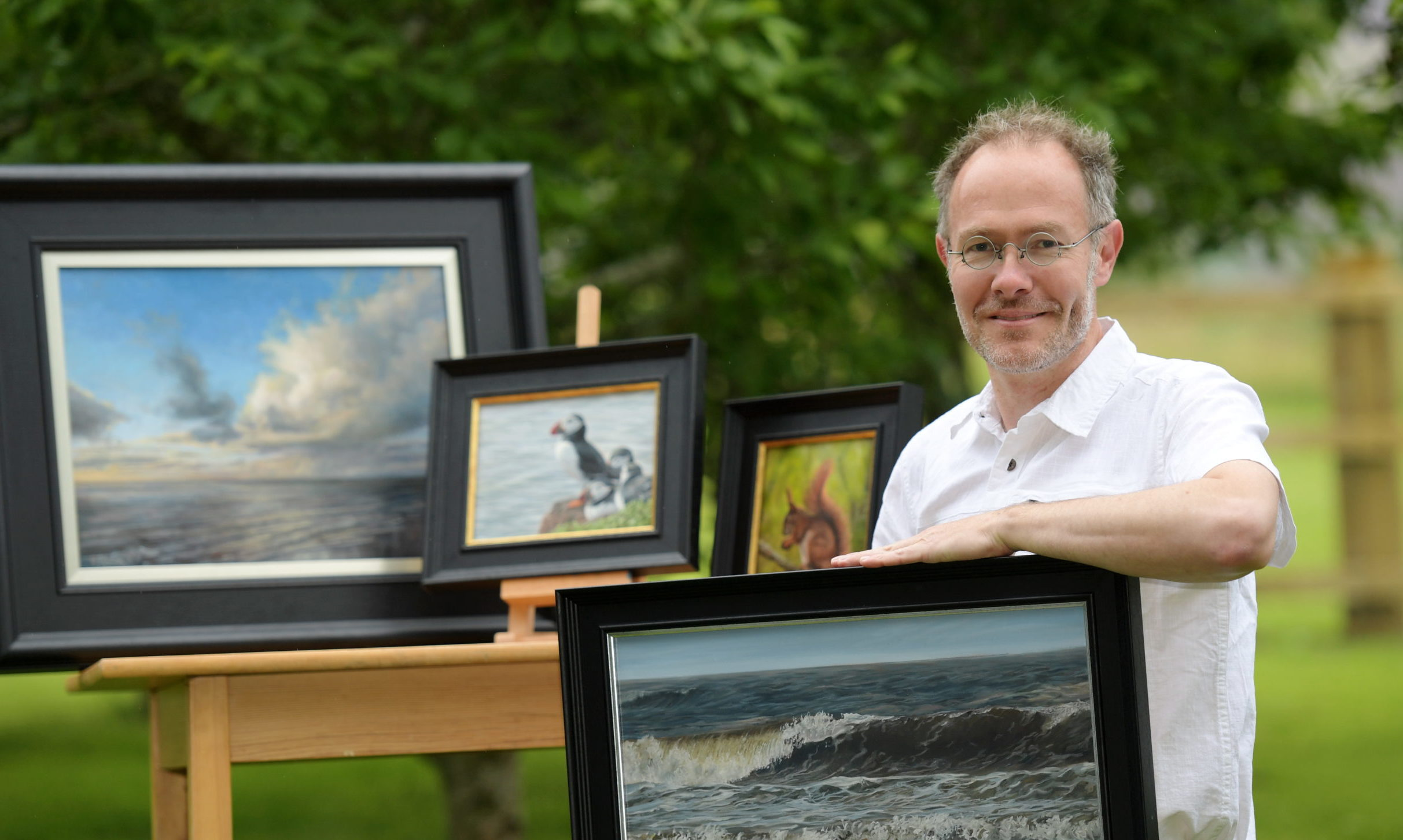 Artaboyne committee member Quintin Davies. Picture by Kath Flannery
