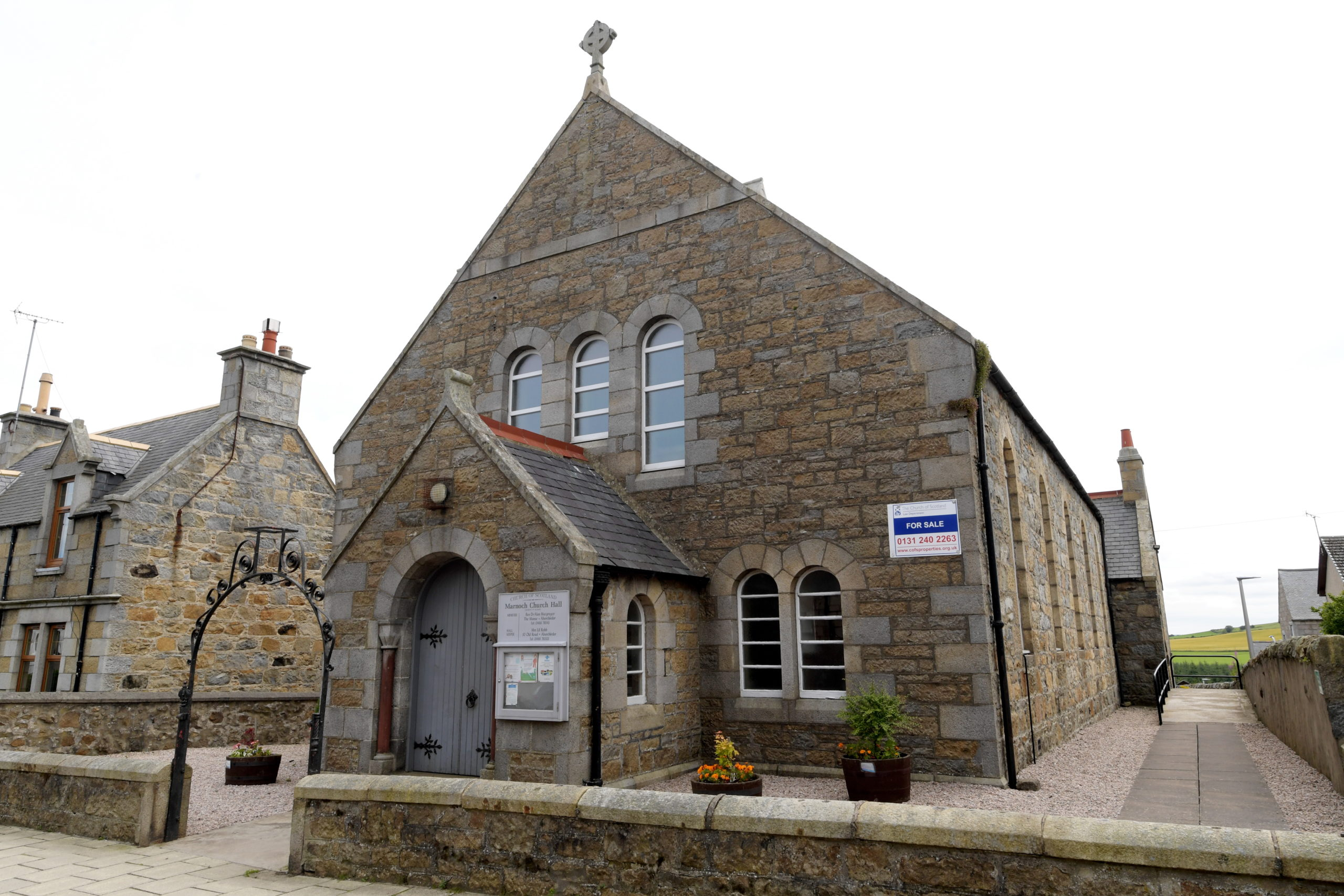 The 1st Marnoch Scout Troop are delighted their offer for the church hall has been accepted.