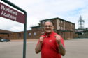 CR0022171  Former Aberdeen Boxer and Kickboxer Alex Wasinowicz, is retiring from fulltime teaching tomorrow, Friday 3rd July, from Northfield Academy.     .....see story Daniel Boal.    Picture by Kami Thomson         02-07-2020