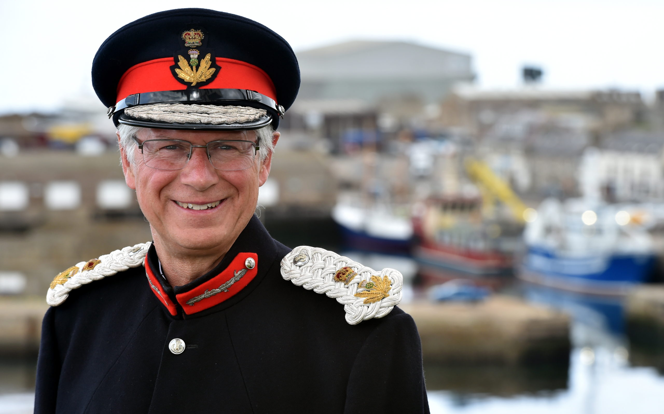 Banffshire Lord Lieutenant Andy Simpson.