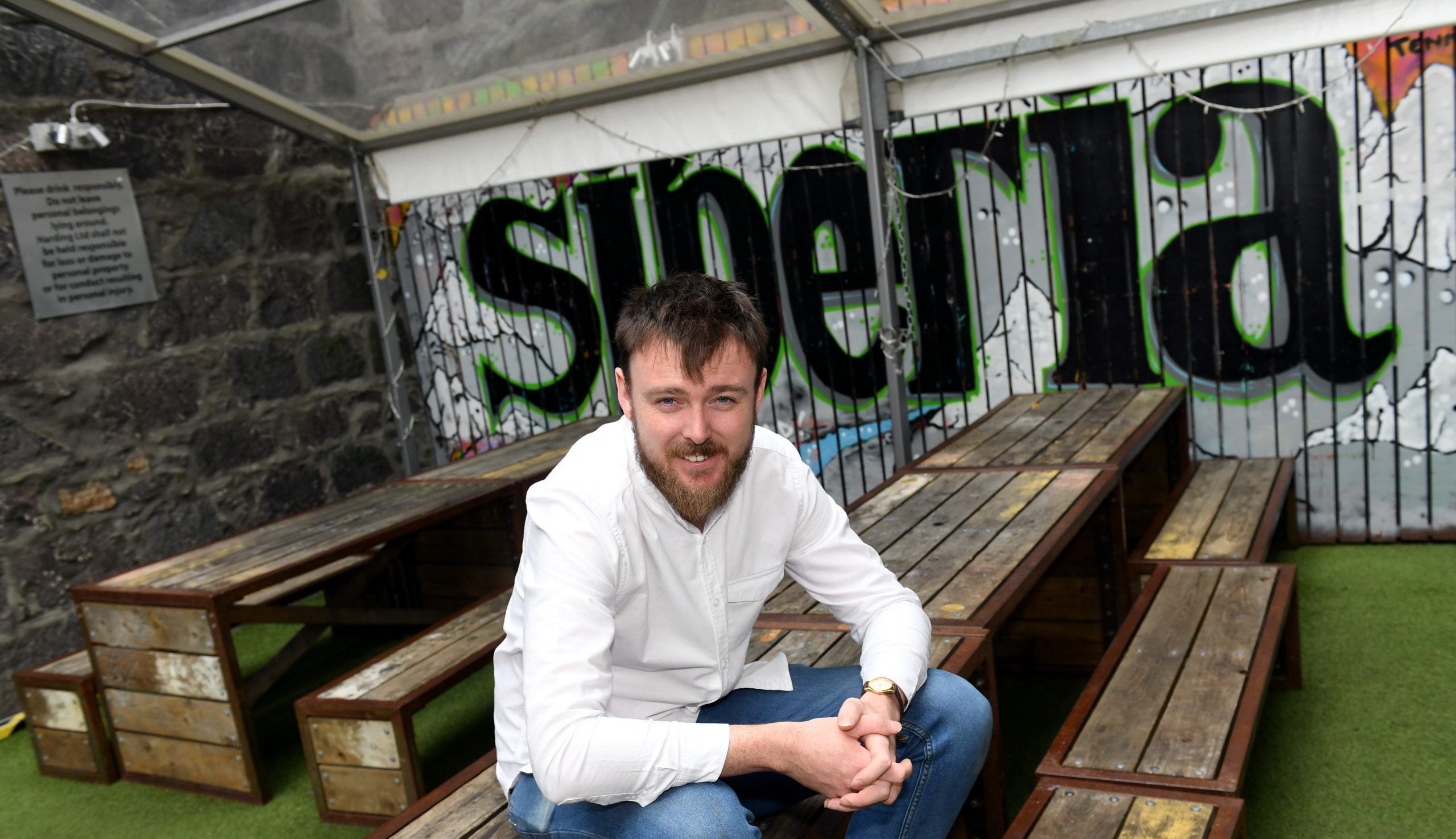 Stuart McPhee, director at Siberia Bar and Hotel on Belmont Street.