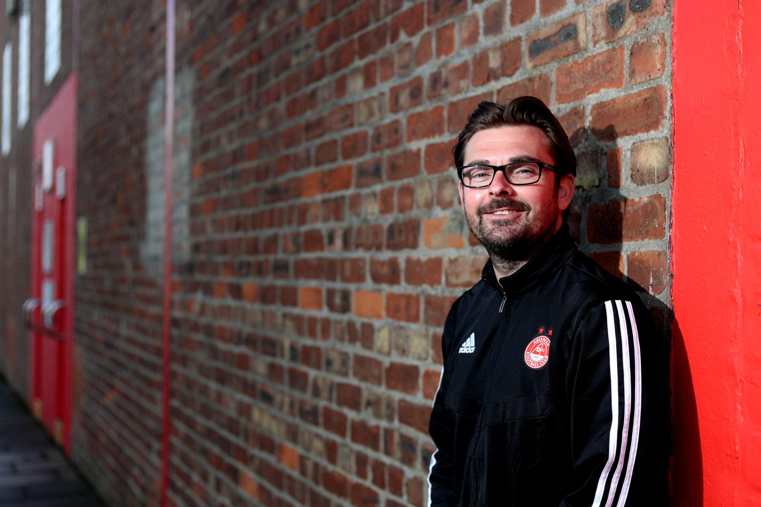 Stuart Bathgate, Aberdeen FC Women co-manager.  Picture by Scott Baxter