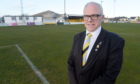 Nairn County chairman Donald Matheson at Station Park.