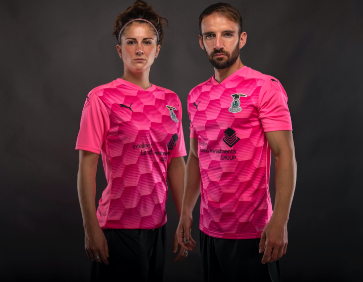 The new Inverness away kit.