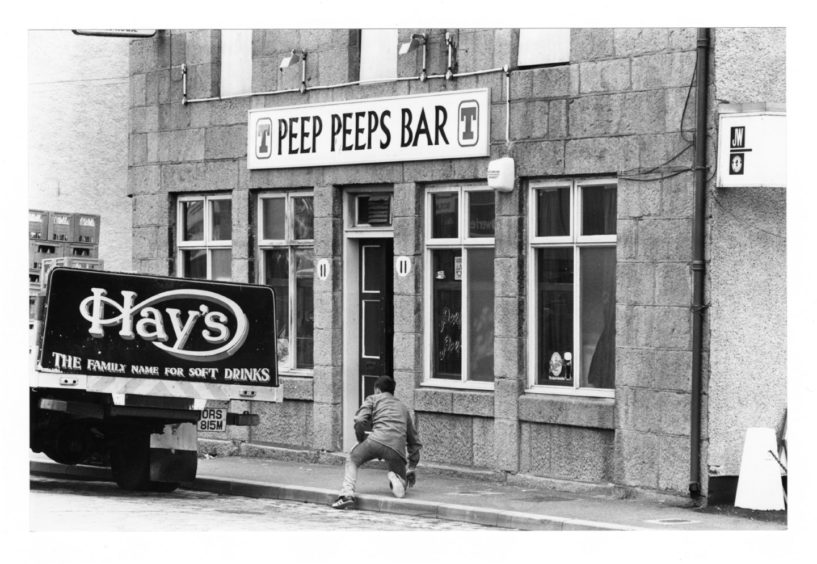 Peep Peeps on Commerce Street, once featured in a TV show as one of the toughest pubs in Britain, closed in 2013.