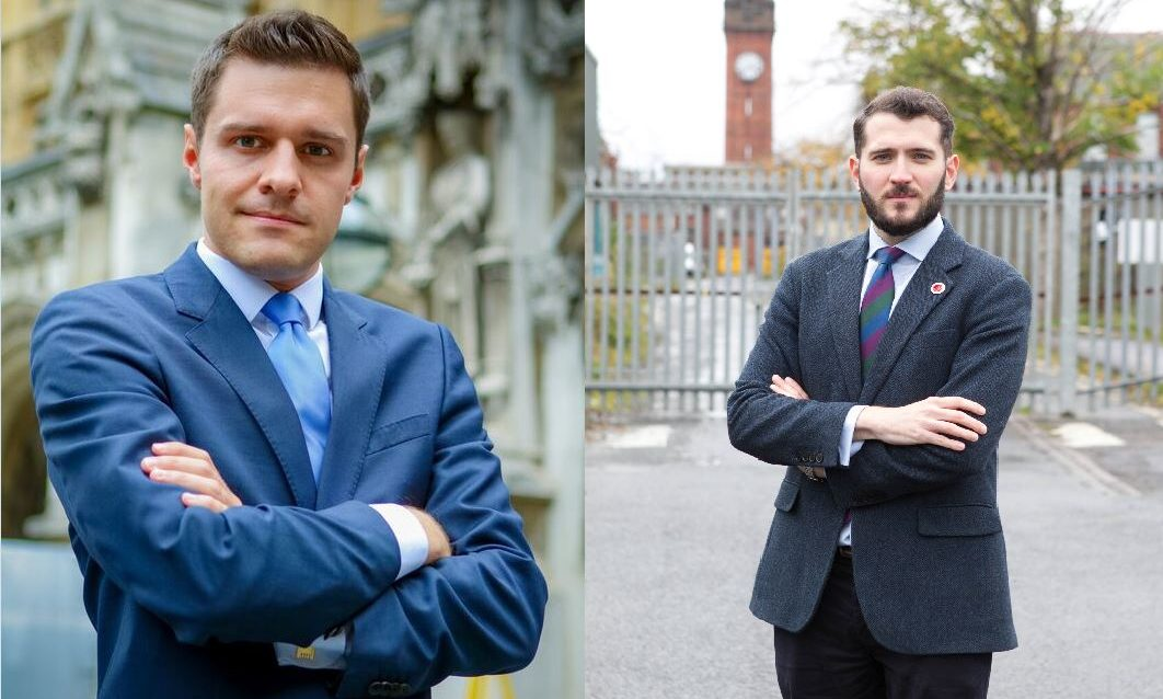 Ross Thomson, left, and Paul Sweeney.