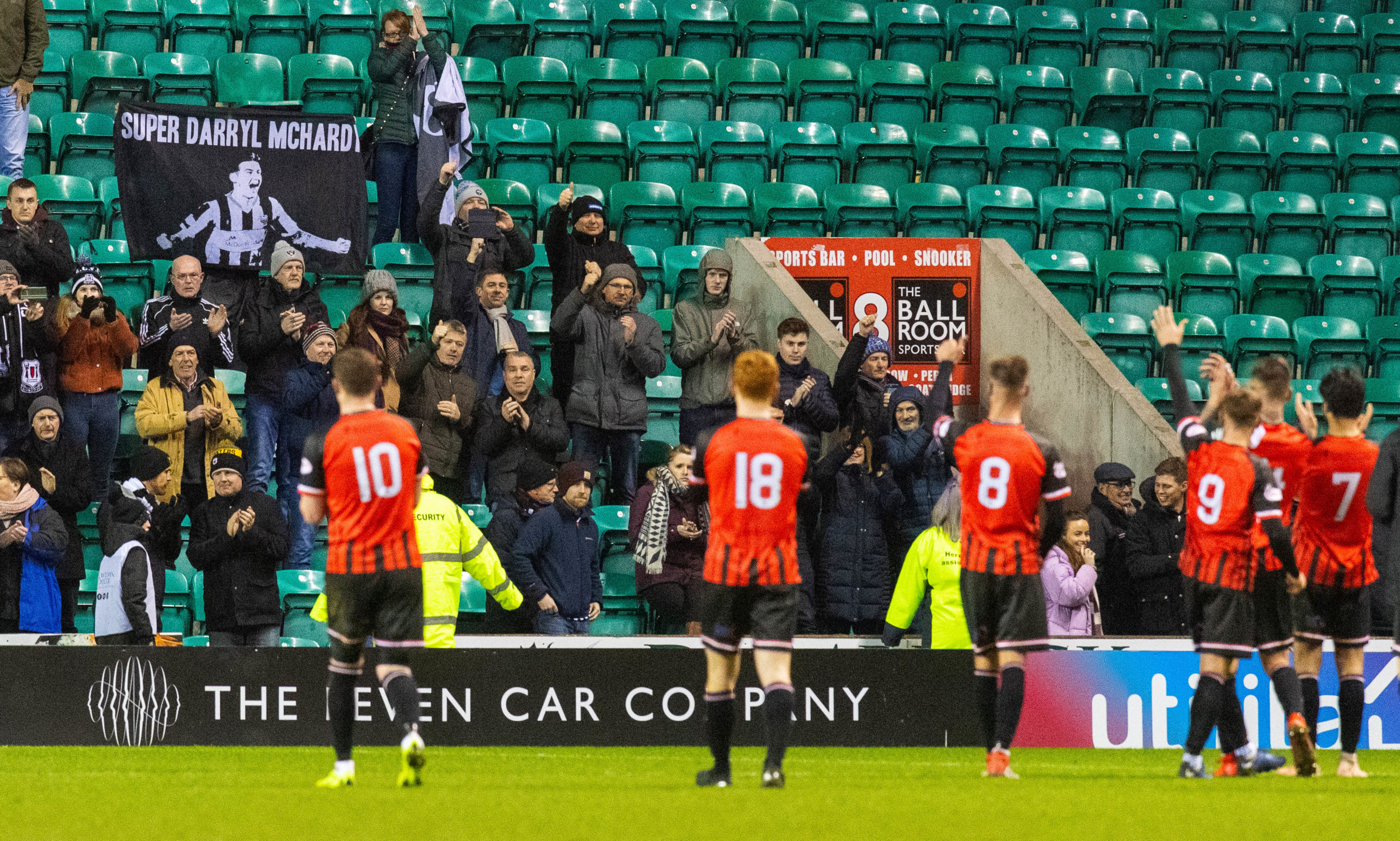 Season tickets are not yet on sale for Elgin City supporters