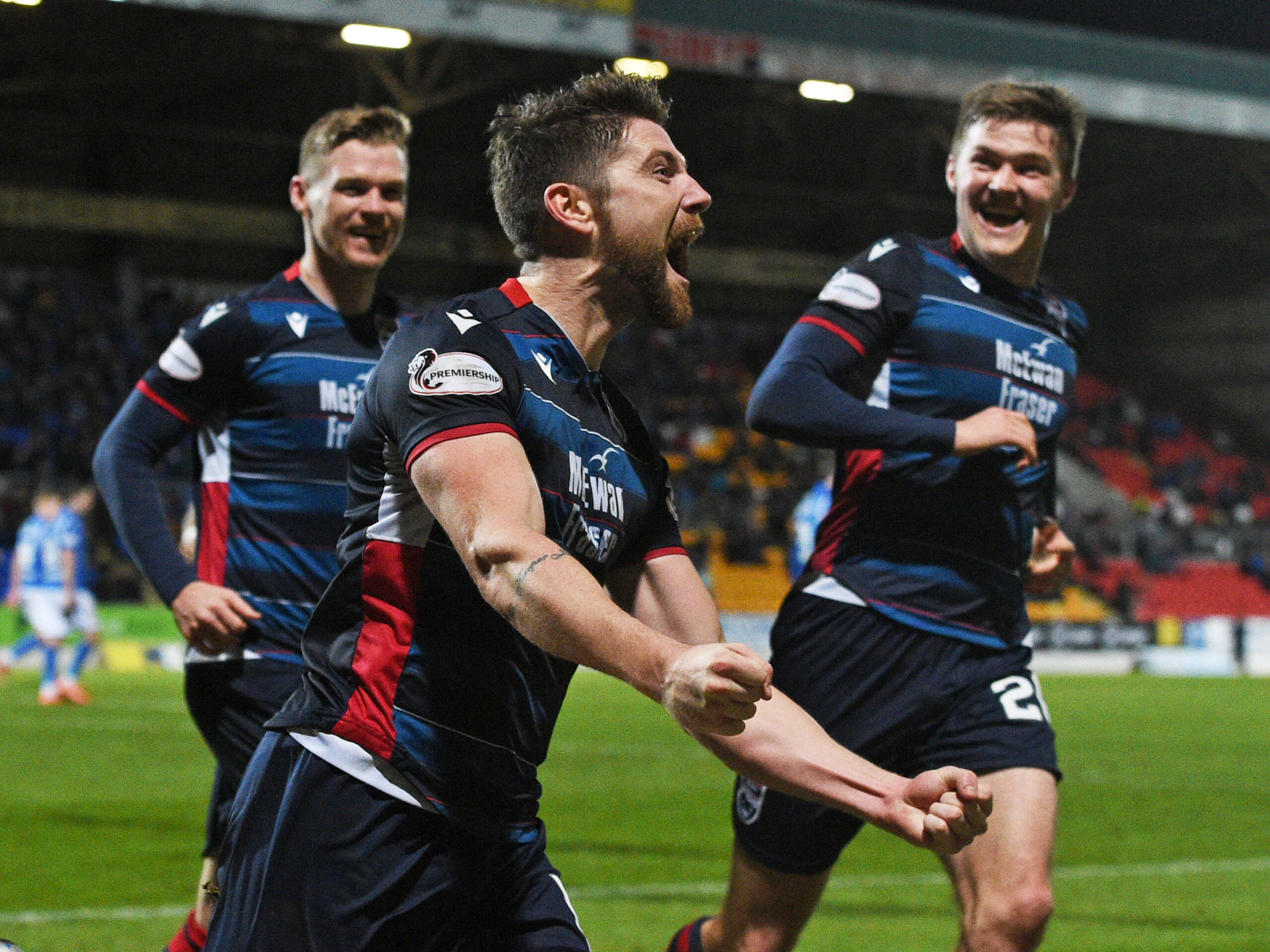 Iain Vigurs was named new Ross County captain yesterday