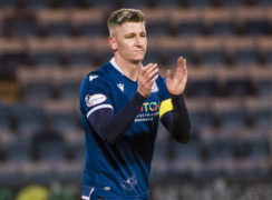 Josh Meekings was captain of Dundee prior to his departure