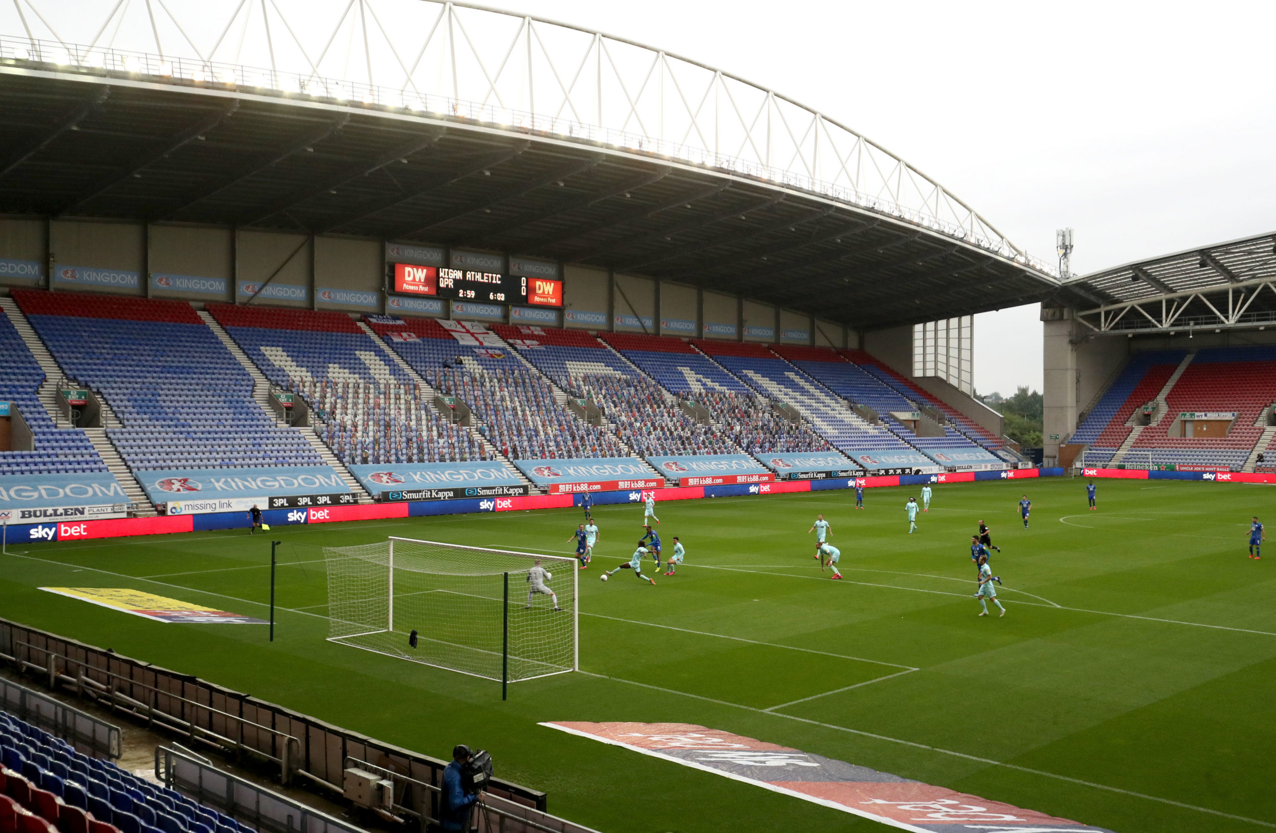 Wigan Athletic were put into administration a fortnight ago